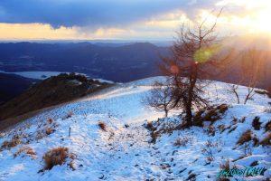 Il Lago, la neve ed il Sole